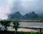大野の朝霧