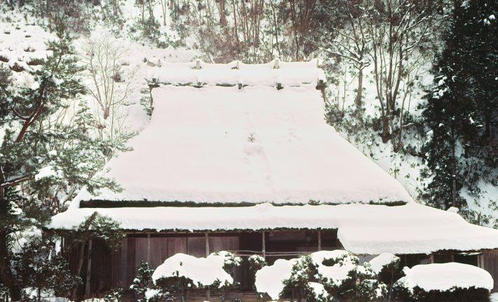 広河原の冬