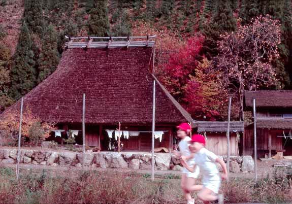 京都広河原の小学生